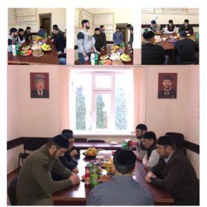 Сегодня в ГКУ «КЦСОН» Ачхой-Мартановского района провели религиозный обряд