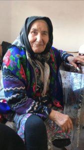 Сегодня поставщики социальных услуг посетили свою подопечную одиноко-проживающую Хатуеву Залпу